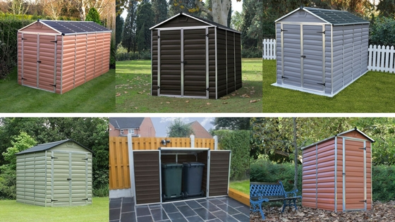 Cheap Plastic Sheds - UK