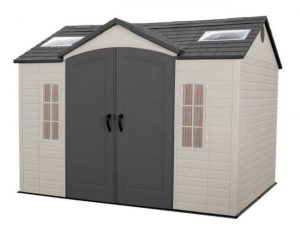 Large Plastic Sheds - Lifetime 10 x 8 ft