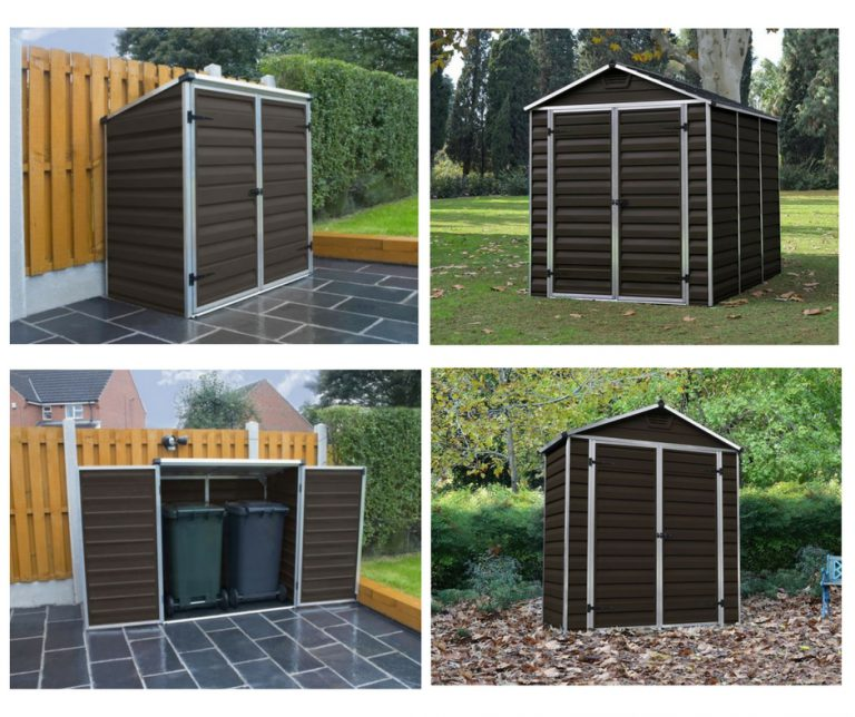 Palram's Selection of Brown Sheds