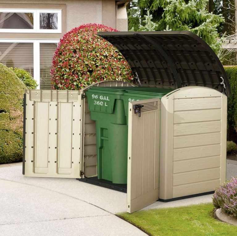 Plastic Wheelie Bin Storage - Store-It-Out Ultra