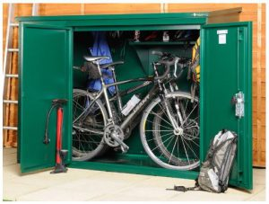 Secure Bike Storage Shed