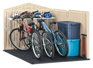 Plastic Bike Storage Sheds