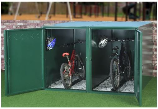 Secure Bike Storage Shed - Single Bike Store
