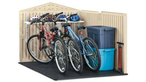 Plastic Bike Storage Sheds