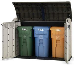 Plastic Wheelie Bin Storage