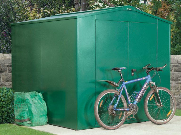 Secure Metal Storage Sheds - Gladiator 7 x 7 ft