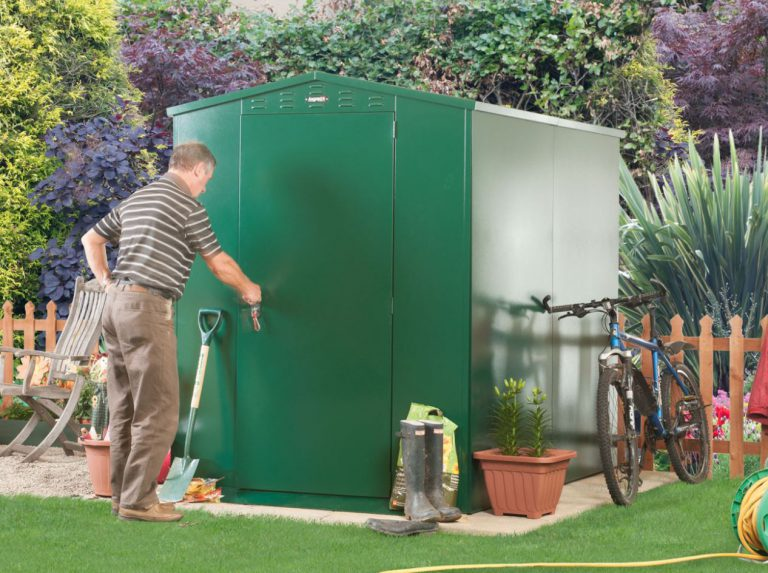 Heavy Duty Steel Sheds