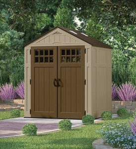 Low Maintenance Garden Sheds Everett 6 X 5 Ft