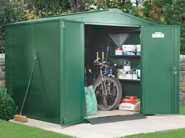 Secure Metal Storage Sheds - Asgard Gladiator 7 x 7 ft