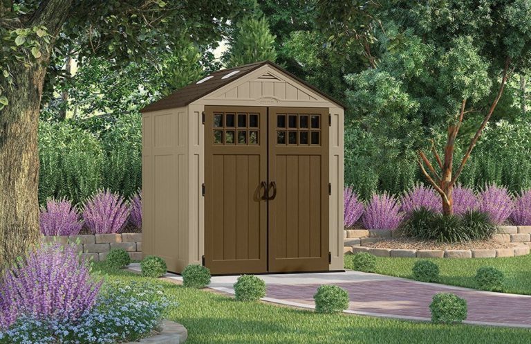 Everett 6 x 5 ft Low Maintenance Shed