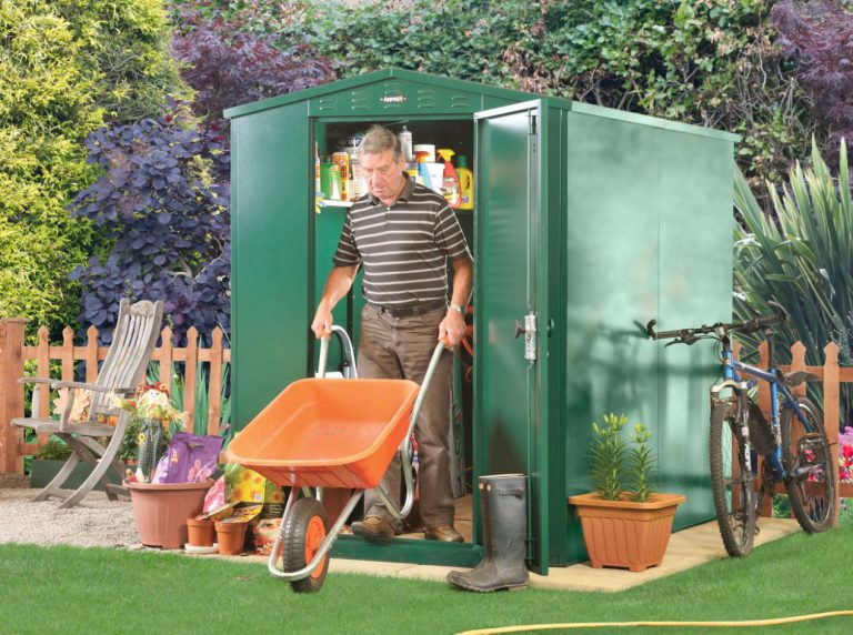 Heavy Duty Steel Sheds - Flexistore 5 x 7 ft