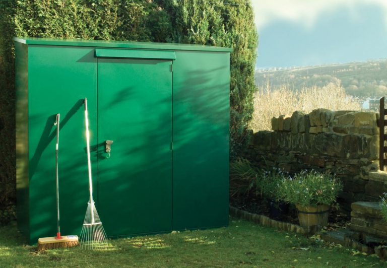 Heavy Duty Metal Storage Sheds - Asgard Trojan