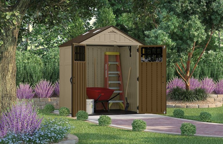 Suncast Everett 6 x 5 ft Weatherproof Shed