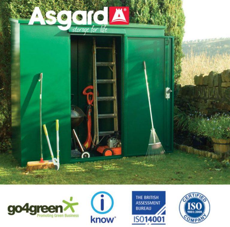 Asgard Trojan Pent Garden Shed
