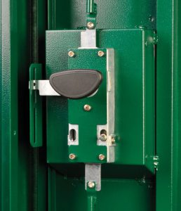 Trojan 3-Way Locking Mechanism