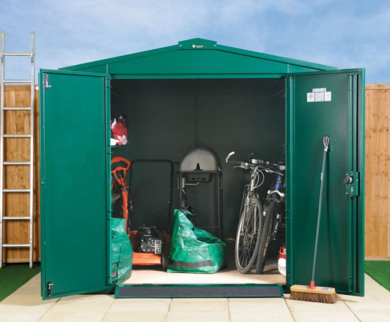 Secure Metal Storage Sheds - Gladiator 7 ft x 7 ft
