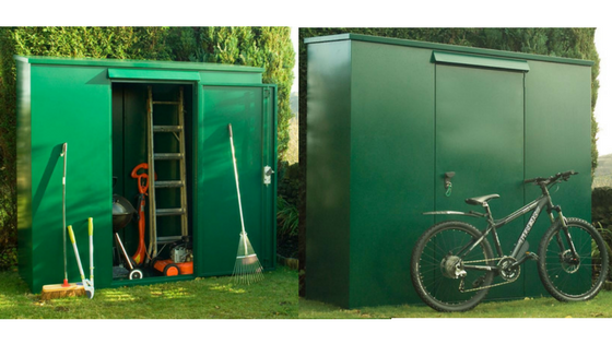 Heavy Duty Metal Storage Sheds