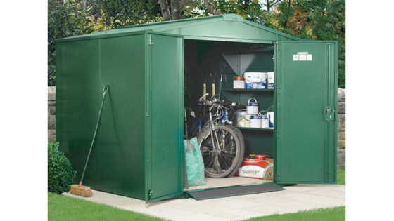 Secure Metal Storage Sheds