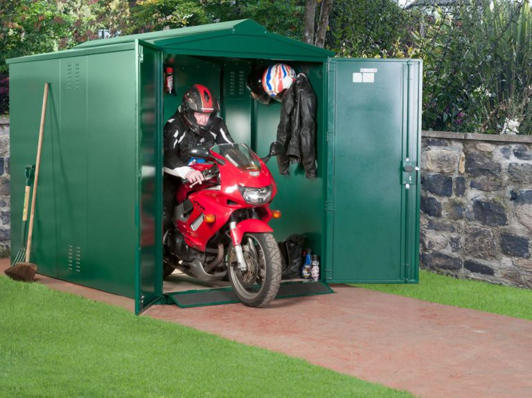 Motorbike Storage Shed UK - Centurion 5 x 9 ft