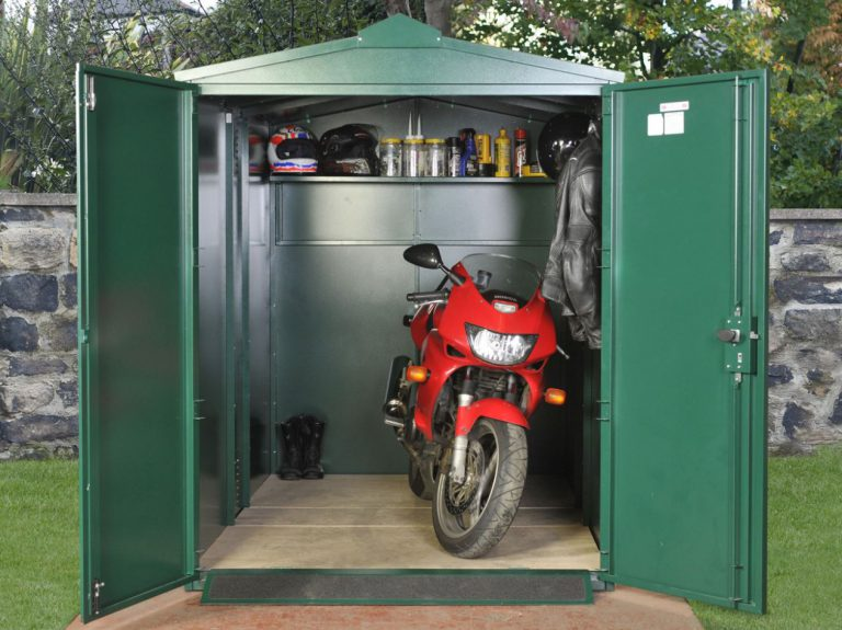 Motorbike Storage Shed UK - Centurion 5 x 9 feet