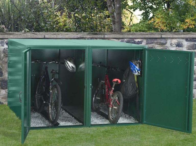 Bike Storage For The Garden