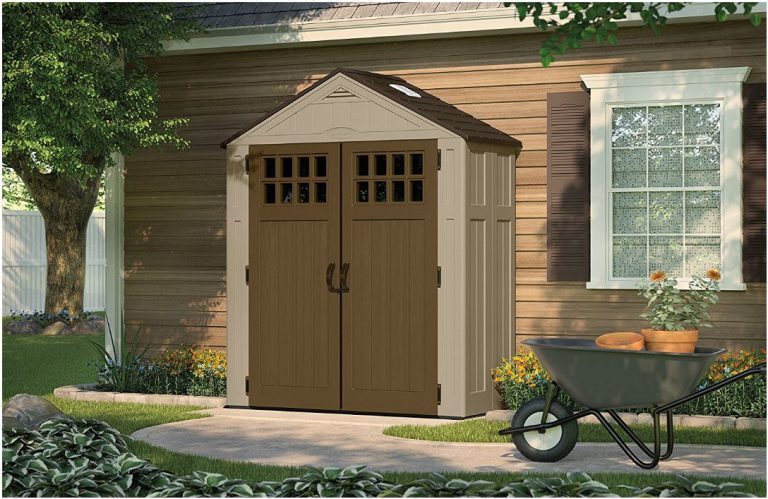Outdoor Plastic Storage Sheds - Everett 6 x 3 ft