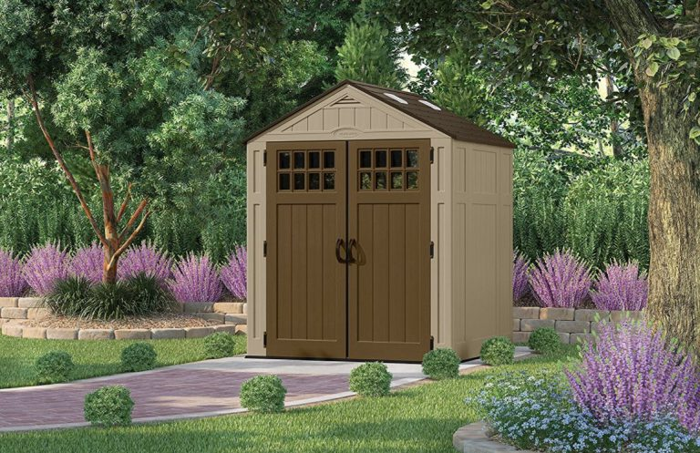 Outdoor Plastic Storage Sheds - Everett 6 x 5 ft
