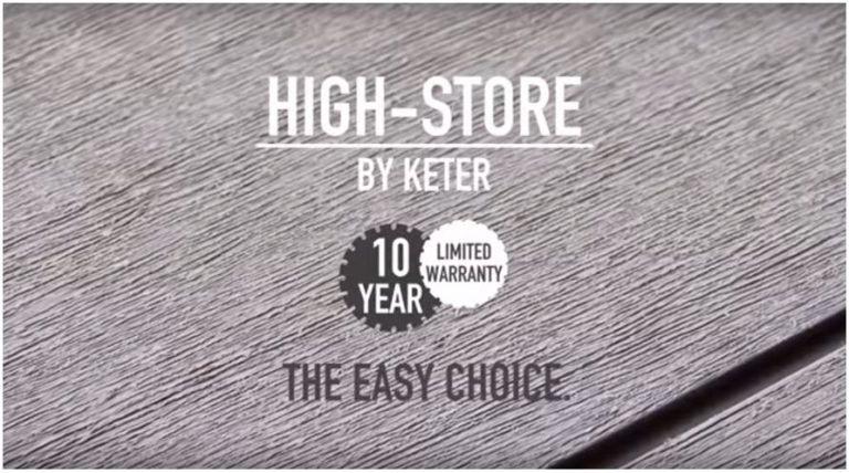10 Years High-Store Warranty