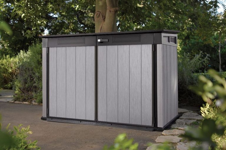 Low Profile Sheds : Low profile resin sheds quality plastic