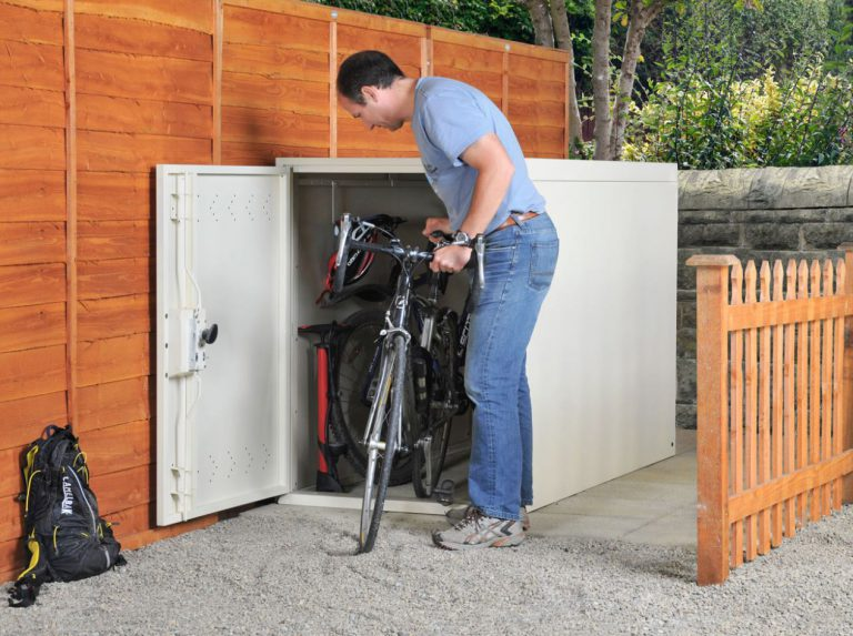 2-Bike Secure Locker