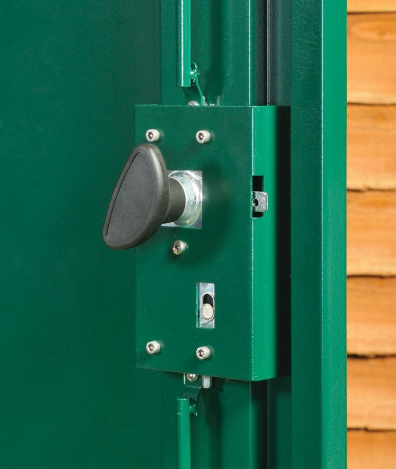Centurion 5 Point Locking Mechanism Weather Resistant Sheds