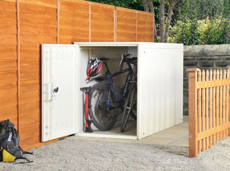 Outdoor Bike Storage Solutions - Asgard 2-Bike Locker