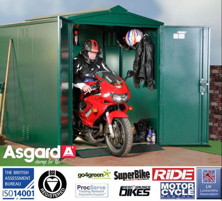 Asgard Centurion 5 x 9 ft Motorbike Shed