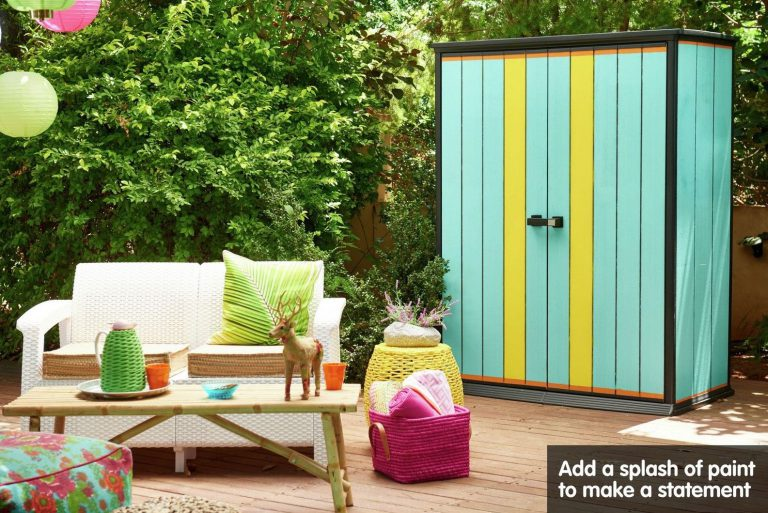Outdoor Patio Storage Sheds - Duotech High-Store