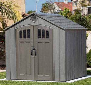 Lifetime Rough-Cut Shed
