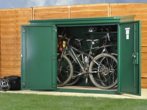 best bike storage solutions quality plastic sheds. Black Bedroom Furniture Sets. Home Design Ideas