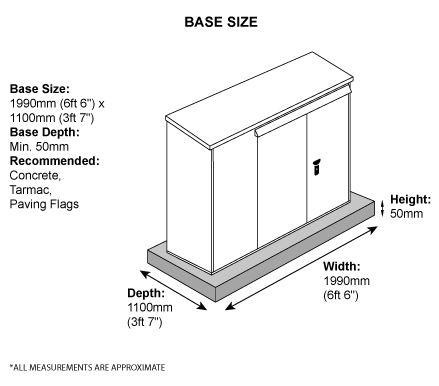 Annexe 3-Bike Store Base Measurements