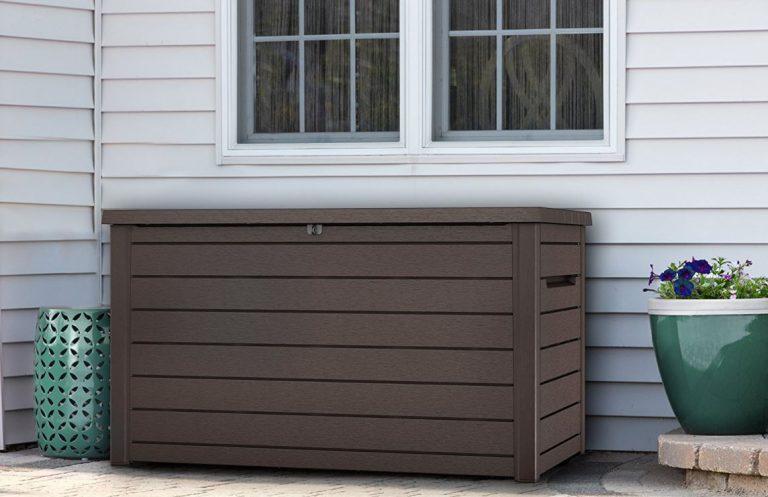 Extra Large Deck Box Storage Quality Plastic Sheds