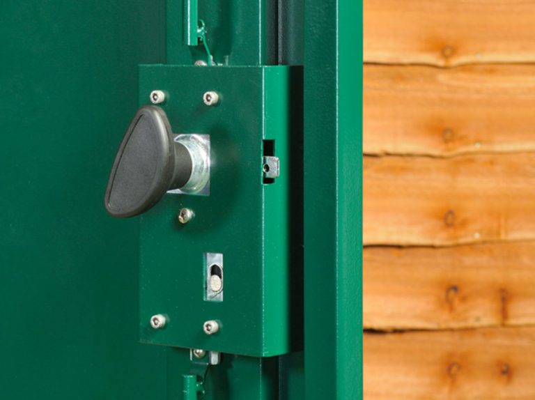 Internal Welded Lock and Handle