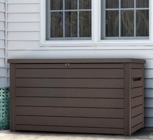 Extra Large Deck Box Storage Quality Plastic Sheds