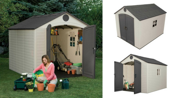 Lifetime Storage Shed 8x10