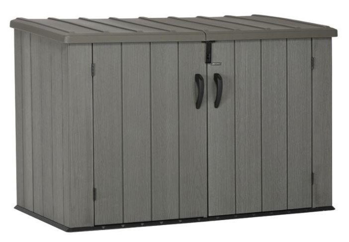 Lifetime Brushwood Horizontal Shed