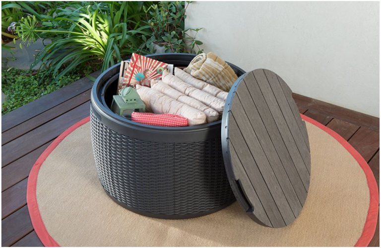 Round Deck Boxes - Keter Circa