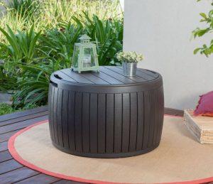 Round Deck Boxes