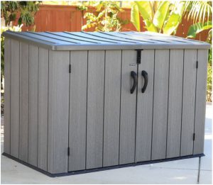 Lifetime Horizontal Storage Sheds