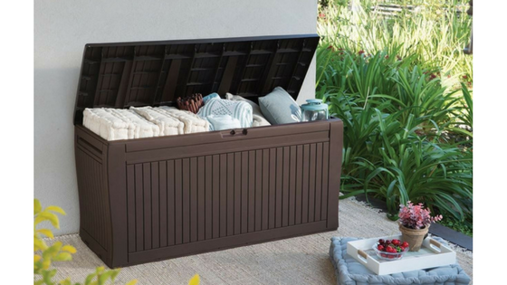 Deck Storage Box With Wheels
