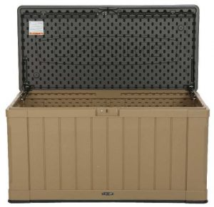 Lifetime Deck Box - Tan Brown