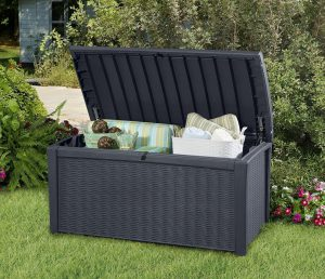 Keter Borneo - Wicker Grey
