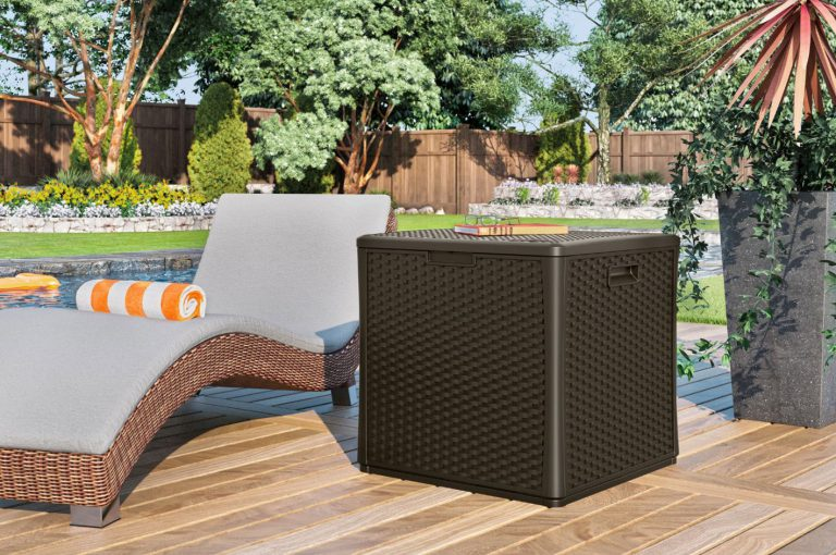 Outdoor Storage Cube by Suncast