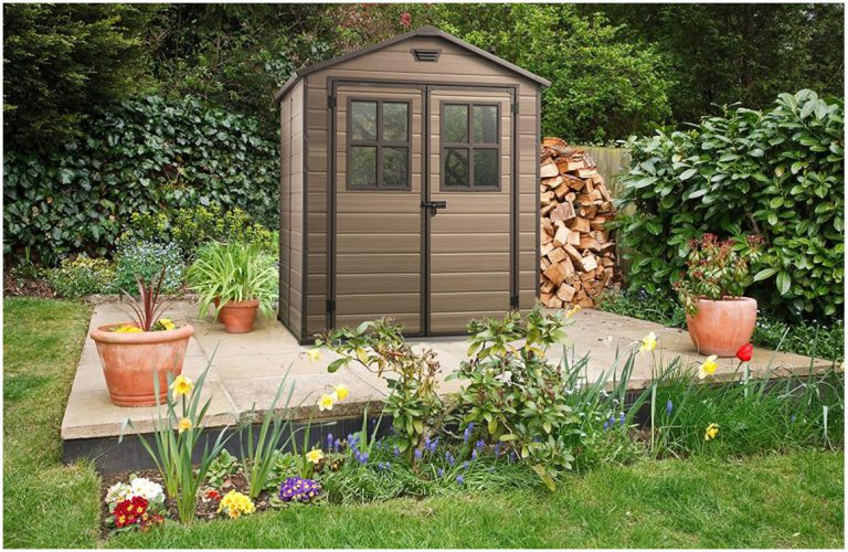 Small Plastic Garden Sheds - Keter Scala